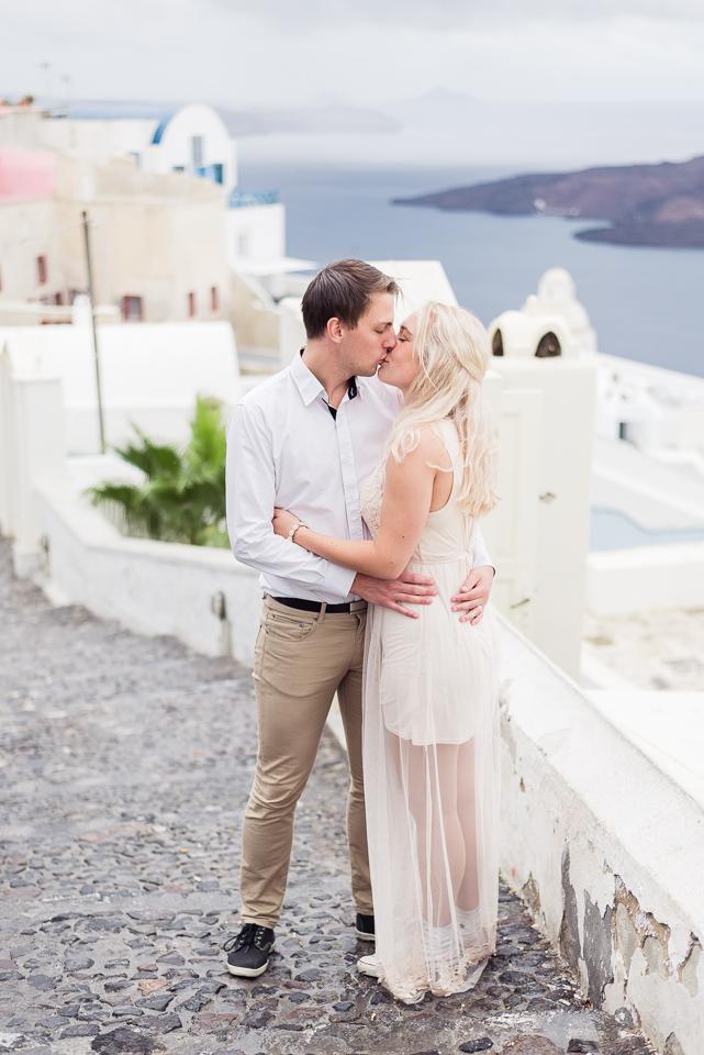 Wedding photographer Santorini Grekland